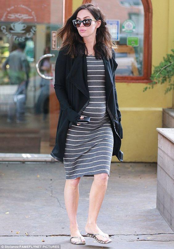 Pregnant Megan Fox