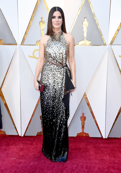Sandra Bullock in Louis Vuitton