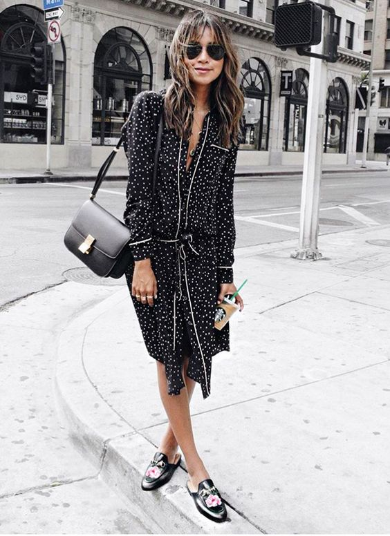 Flat Mules Outfit Ideas