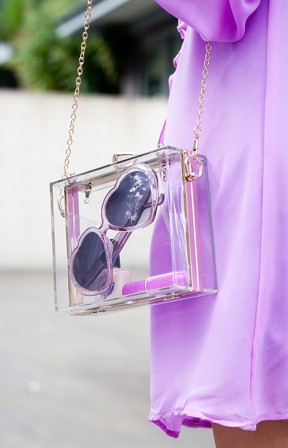 clear bag trend