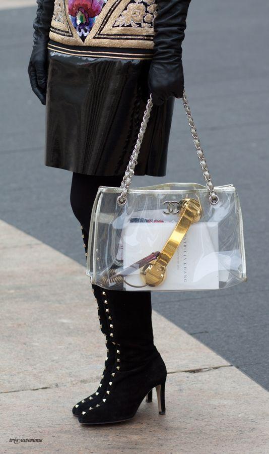 naked handbag