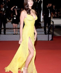 Irina Shayk Stuns on First Red Carpet After Giving Birth