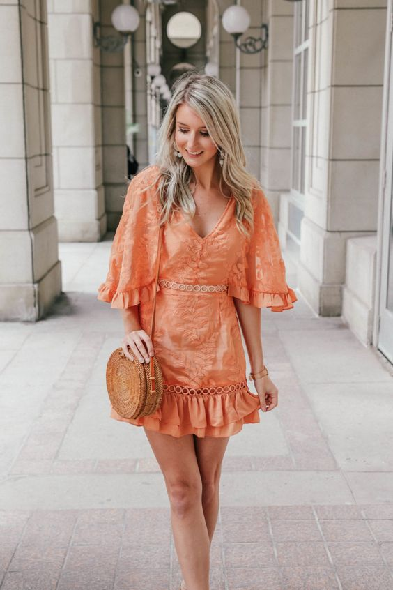 Chic Ways to Wear Orange Outfit This Summer