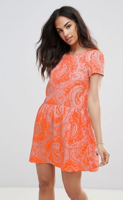 FRNCH Paisley Dress