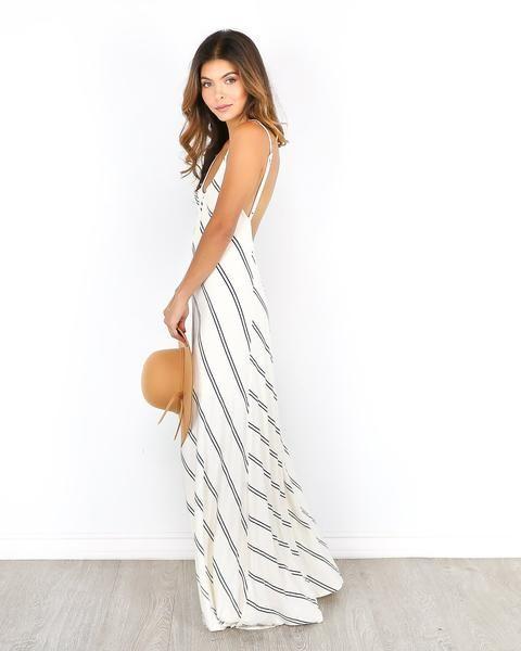 The Go Around Maxi Dress