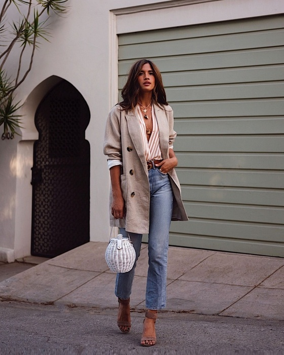 Jeans via Rocky Barnes Blog