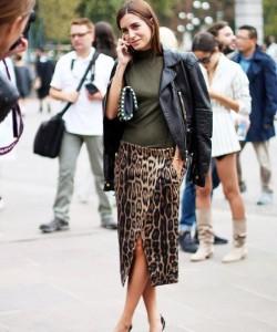 Wear Animal Print Skirts