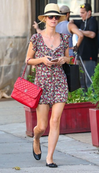 Nicky Hilton Quilted Leather Bag By Chanel