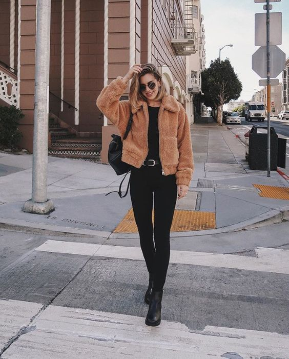 Warm Jacket outfit
