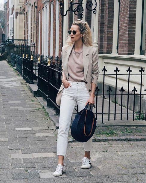 via fashion on beige