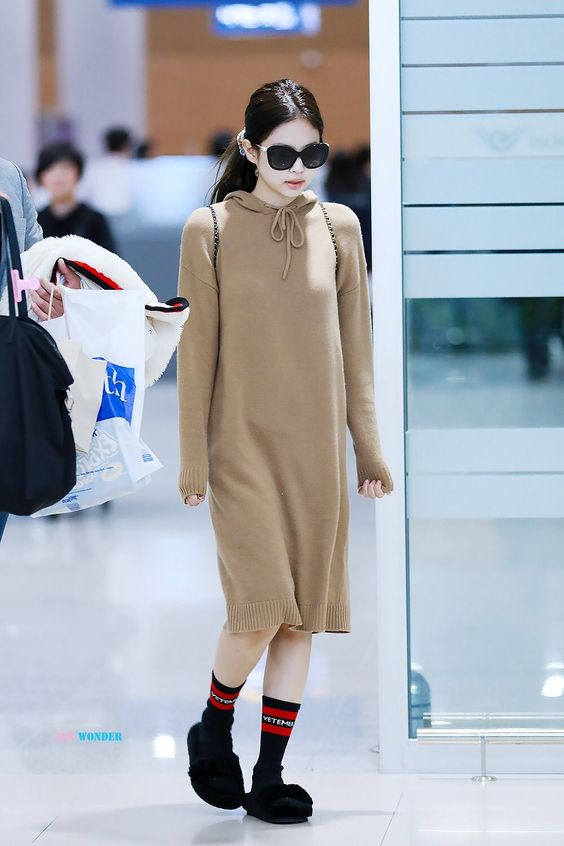 JENNIE at ICN Airport