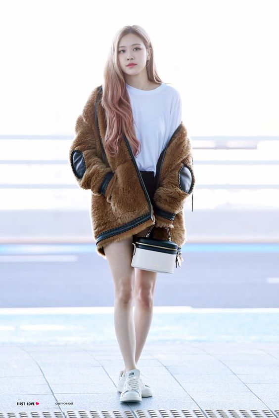 Rosé at Incheon airport