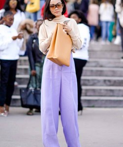 Bright pastel pants are all we can think about at the moment