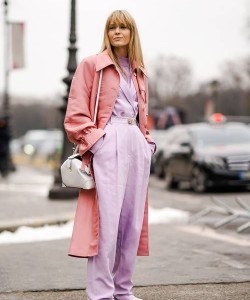 Purple and pink go notably well together, so don't be afraid to incorporate both into your next ensemble.