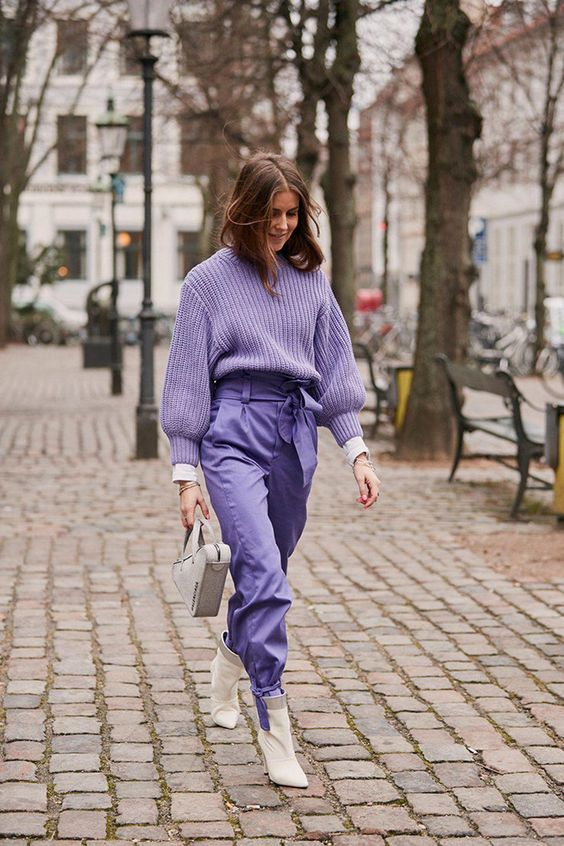Trend Purple Outfits