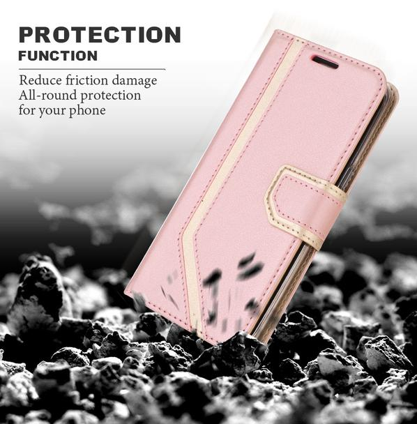 Makeup Mirror PU Leather Case for Galaxy S8