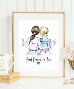 Personalized FRIENDS Wall Art