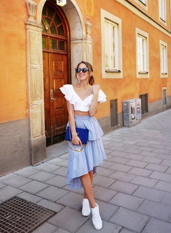 Chic Ways to Style Statement Blouses To End Summer This Year