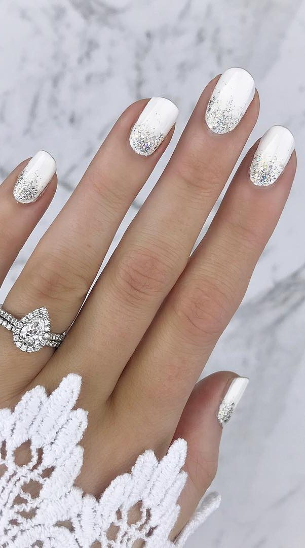 Pretty Wedding Nail Art Ideas You Need To Try in 2019