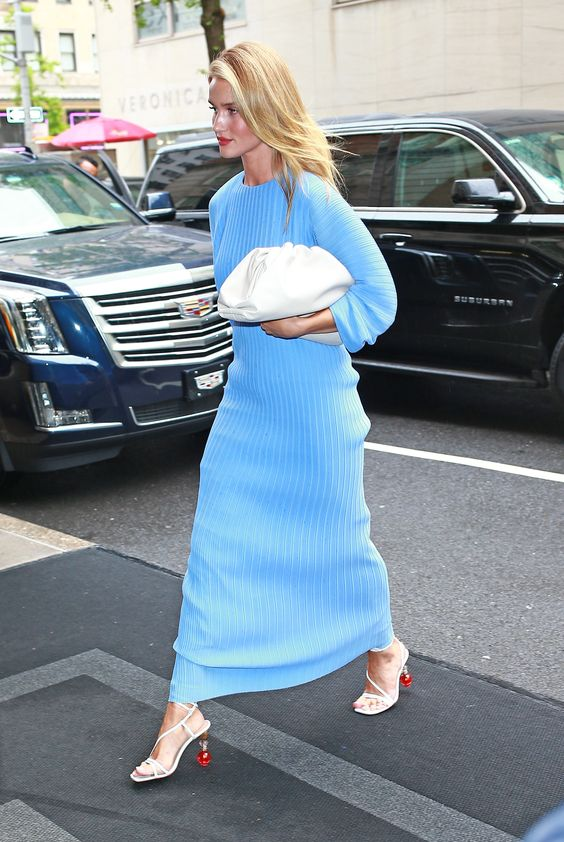 Rosie Huntington-Whiteley is among the new It bag's famous fans.