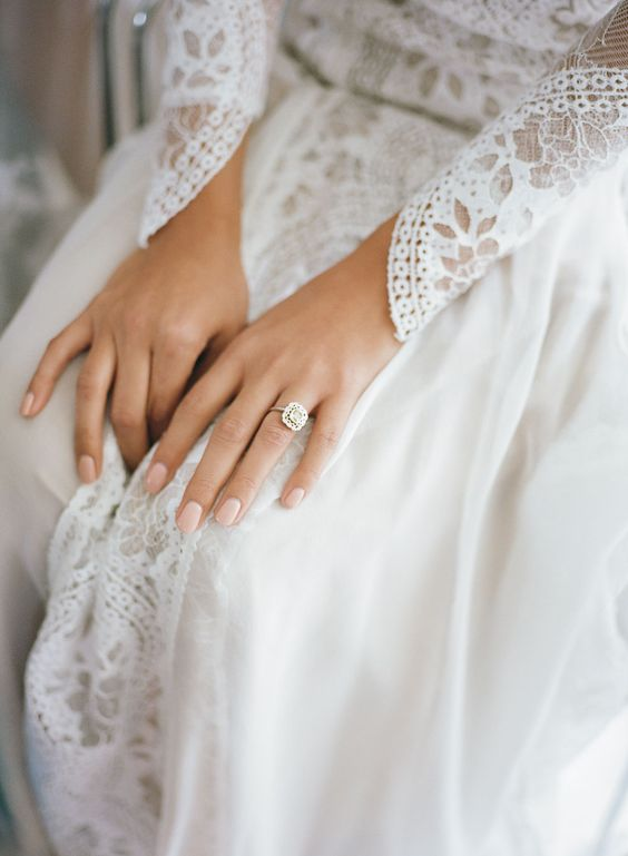 trend wedding nails