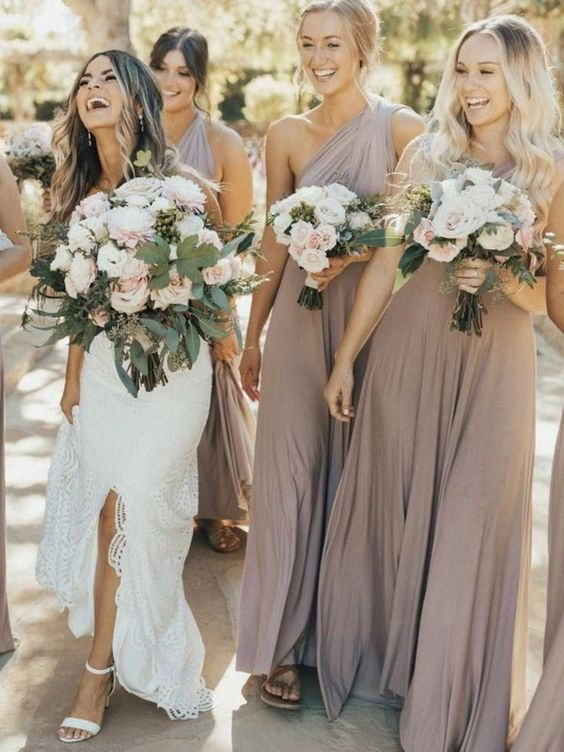 Perfect Color Bridesmaid Dresses For Warm-Weather Weddings