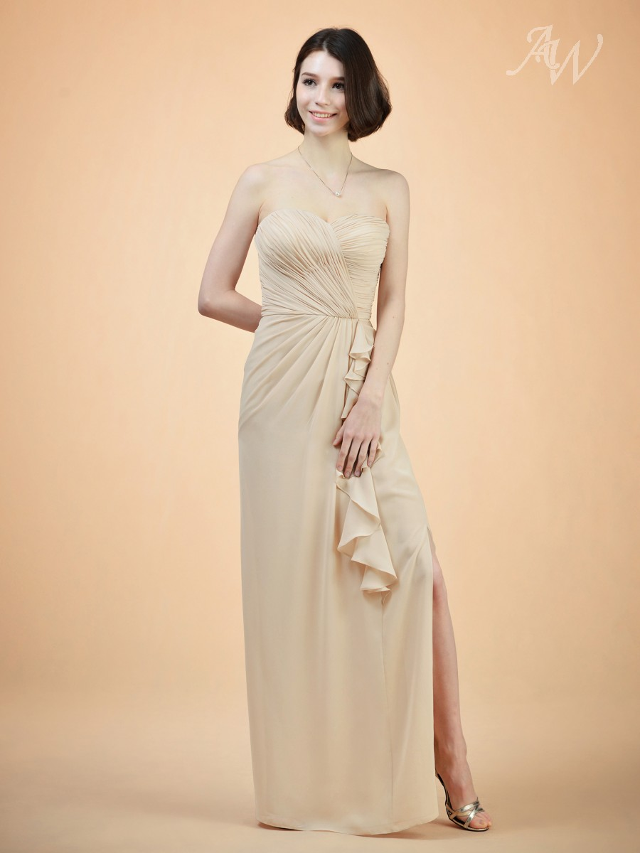Victorine Column Bridesmaid Dress