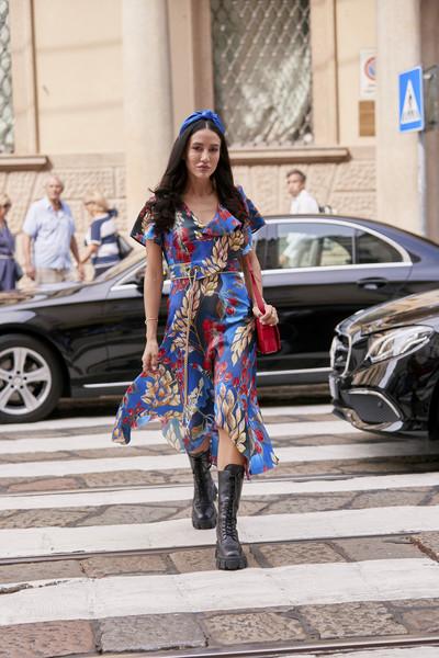 Street Fashion at Milan Spring 2020