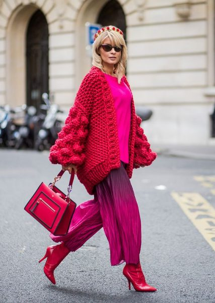 Most Favorite Winter Looks in Bright Colors