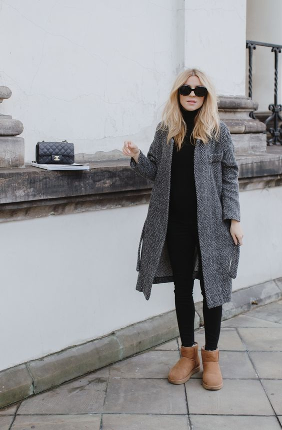Winter Outfits With UGG Boots