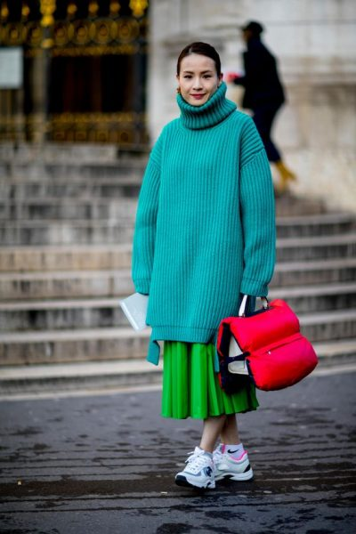 bright winter style