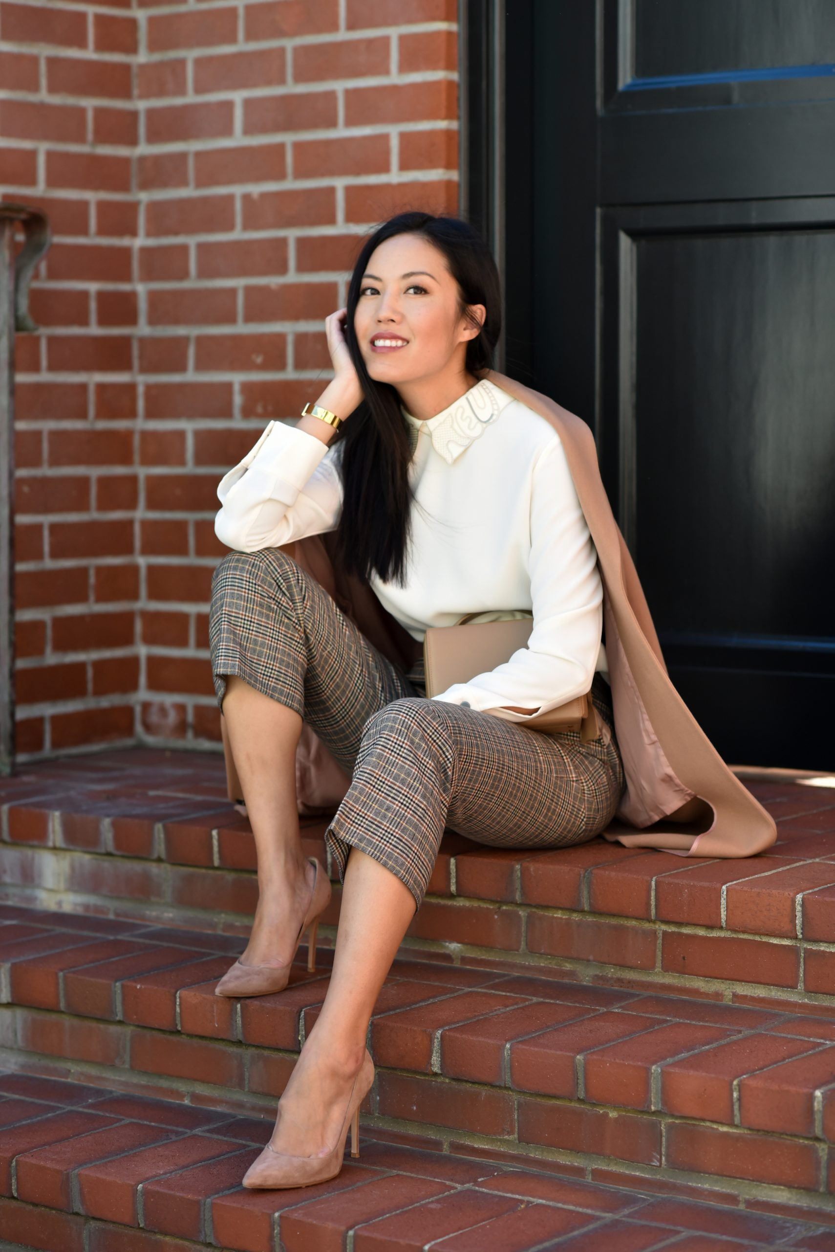 Best Work Outfit Ideas From Anh- 9to5Chic
