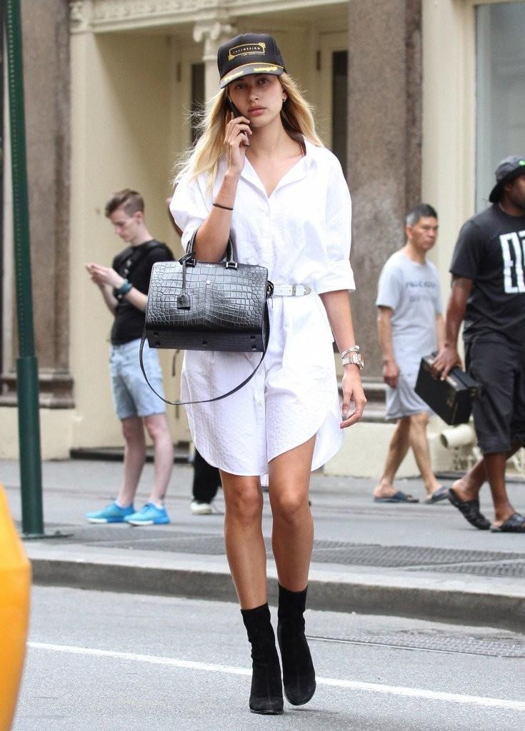 Hailey Bieber Street Style Looks