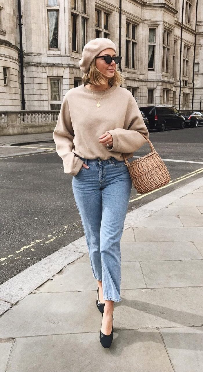Chic Ways To Style Sweater For Spring Looks