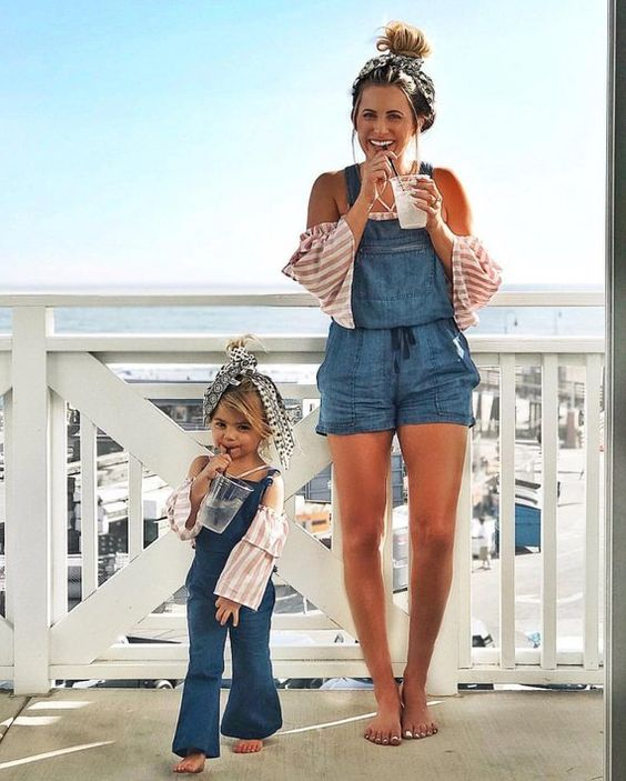 The Sweetest Mom and Daughter Style Ideas From Pinterest
