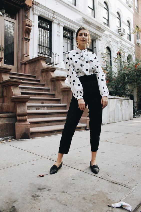 Polka Dots Trend Outfit