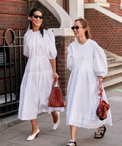 How to Wear Statement White Dresses This Spring