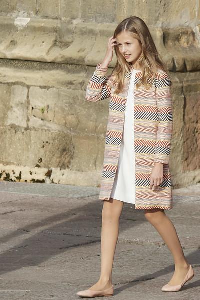 Princess Leonor Tweed Coat