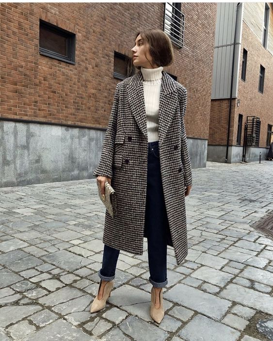 Stylish Ways to Wear Tweed Coat Outfit