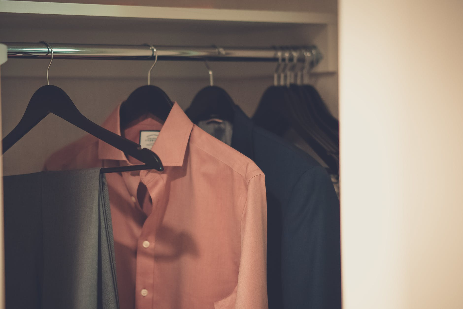 via pexels | 3 Rules to Keep in Mind When Cleaning out Your Closet