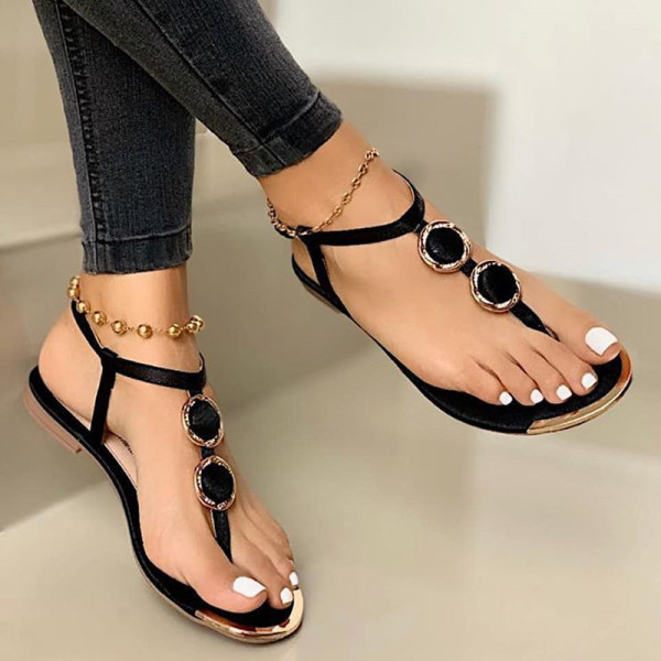 Women's casual Flat Toe Sandals $43.29