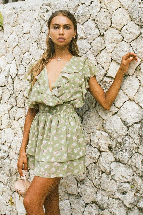Green Outfit Ideas For Summer Vibes
