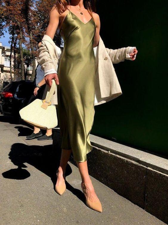 Summer Silk Outfit