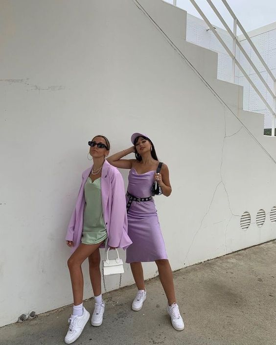 Lilac Outfit ideas