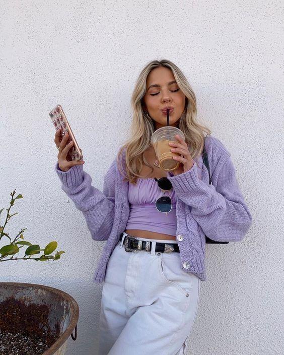 lilac fashion 2020 trend