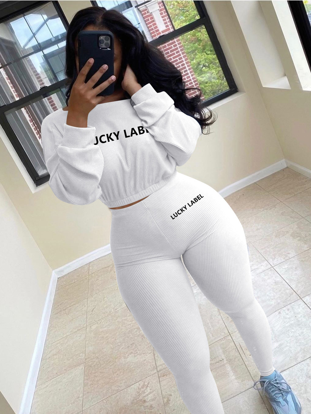 Casual Two Pieces Trouser Set