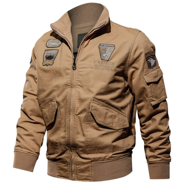 Mens outdoor washed jacket