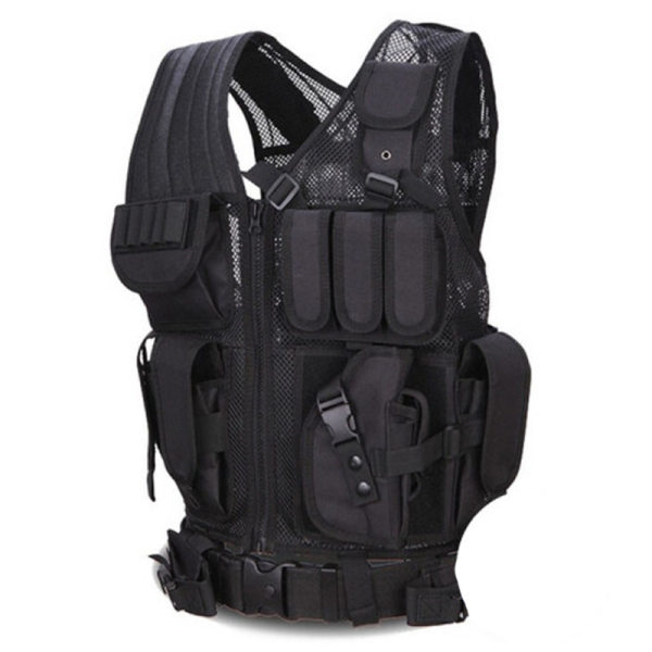 Outdoor multifunctional tactical combat vest