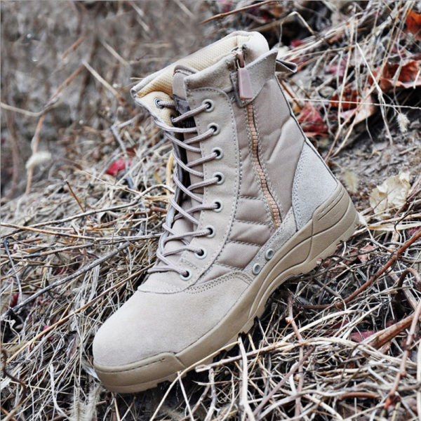 Practical outdoor ultra-light wear-resistant combat boots