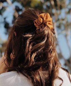 Scrunchie Hairstyle Ideas